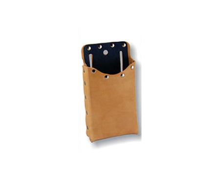 LEATHER WORKS - SINGLE POCKET FIBER-LINED SMALL TOOL POUCH