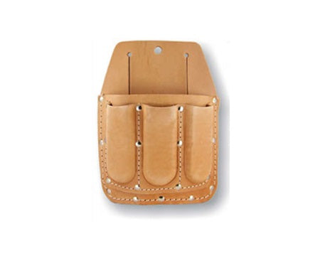 LEATHER WORKS - 4 POCKET UTILITY TOOL POUCH
