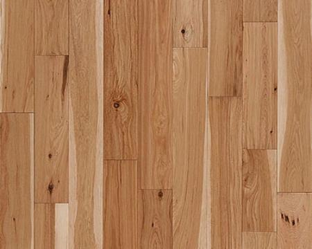 "Carriage Hills Solid 3/4"" x 5"" Hickory - Oats $6.86SF"