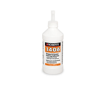ROBERTS - 1406 TONGUE & GROOVE ADHESIVE HIGH STRENGTH PVA 16 OZ.