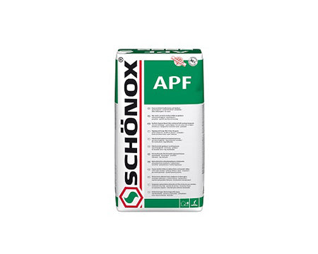 SCHÖNOX - APF SYNTHETIC GYPSUM FIBER REINFORCED SELF-LEVELING COMPOUND 55 LB