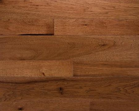 "Somerset 3 1/4"" Character Engineered Builder Hickory - Saddle $2.76SF"