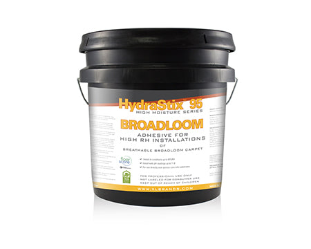 XL BRANDS - HYDRASTIX 95 BREATHABLE BROADLOOM ADHESIVE 4 GALLON