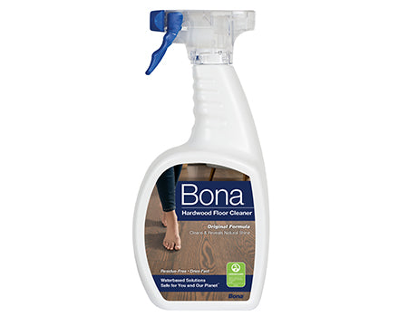 BONA - HARDWOOD FLOOR CLEANER 32 OZ. BOTTLE WITH SPRAY TRIGGER