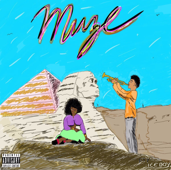 """MUZE"" Hard Copy CD - ICE BOY HAZE"
