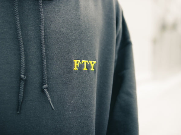 """FTY"" Embroidery Hoodie"