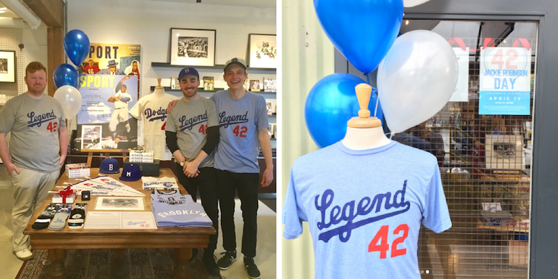 The SPORT Gallery on Jackie Robinson Day