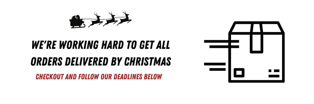 The SPORT Gallery Holiday Shipping Deadlines