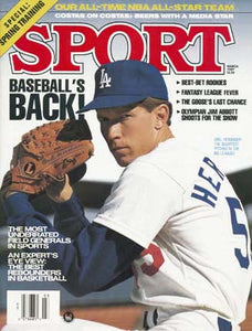 March 1989 Sport Cover (Orel Hershiser, Los Angeles Dodgers)