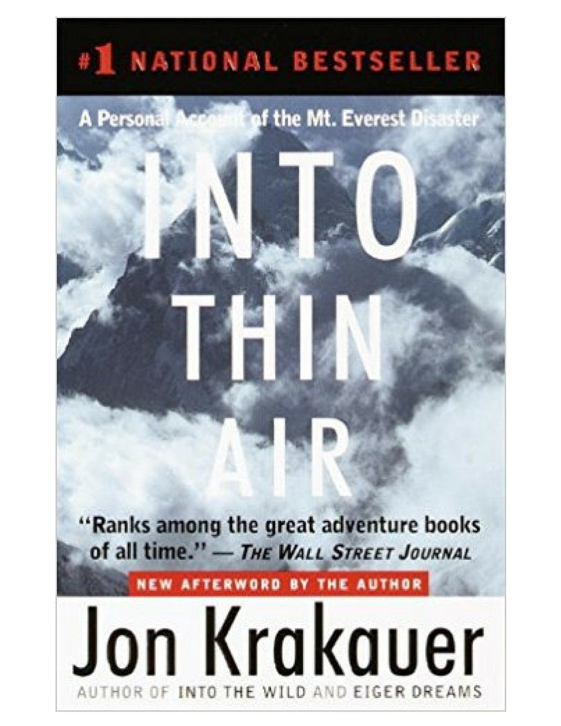 Into Thin Air - Jon Krakauer