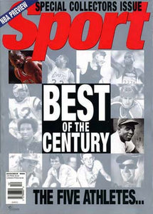 December 1999 Sport Cover (Michael Jordan, Chicago Bulls,  Jackie Robinson Brooklyn Dodgers)