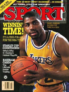 May 1989 Sport Cover (Magic Johnson, Los Angeles Lakers)
