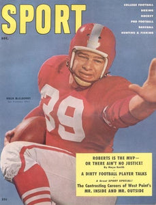 December 1955 Sport Cover (Hugh McElhenny, San Francisco 49ers)