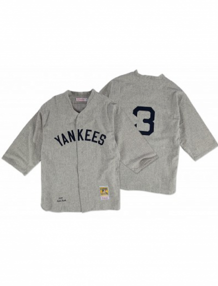 cheaper 5736d c0ae2 New York Yankees 1929 Babe Ruth Authentic Replica Jersey