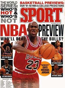 November 1991 Sport Cover (Michael Jordan, Chicago Bulls)