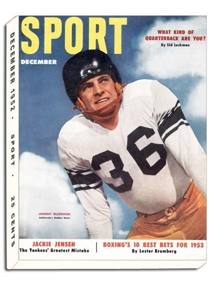 December 1952 Sport Cover (Johnny Olszewski, University of California)