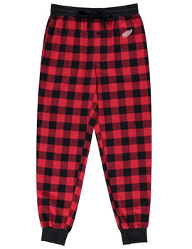 Detroit Red Wings (Red Plaid) Men's Woven Pyjama Pants