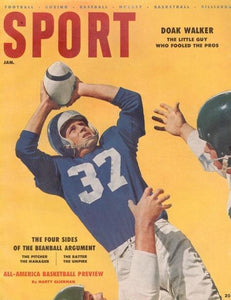 January 1956 SPORT Cover
