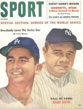 October 1960 SPORT Cover