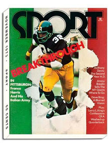 November 1973 Sport Cover (Franco Harris, Pittsburgh Steelers)