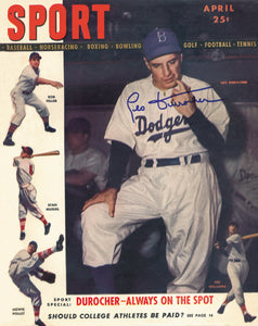 April 1947 SPORT Cover (Leo Durocher, Ted Williams, Stan Musial)