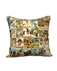 1950s SPORT Magazine Pillow Case