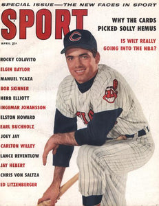 April 1959 SPORT Cover (Rocky Colavito, Cleveland Indians)