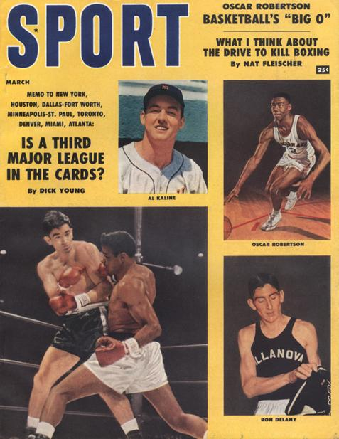 March 1959 SPORT Cover (Oscar Robertson, Al Kaline, Ron Delany)