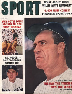 May 1959 SPORT Cover (Gil Hodges, Los Angeles Dodgers)