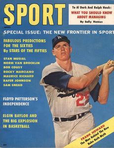 April 1961 SPORT Cover (Frank Howard, Los Angeles Dodgers)