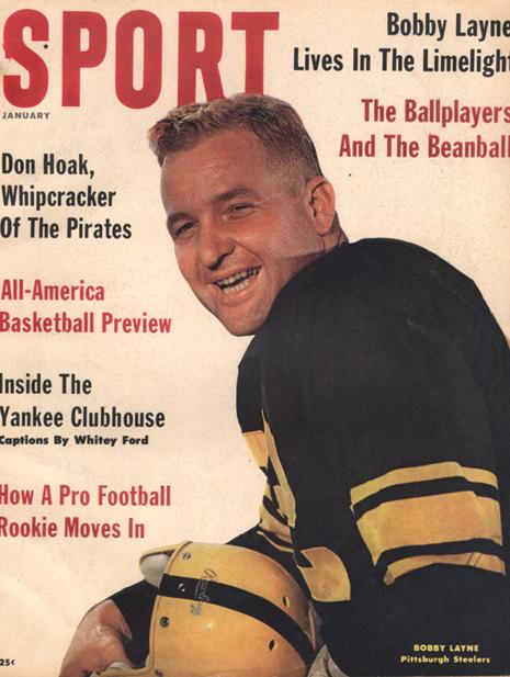 January 1961 SPORT Cover (Bobby Layne, Pittsburgh Steelers)