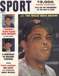 June 1961 SPORT Cover (Willie Mays, El Roy Face, Yogi Berra)