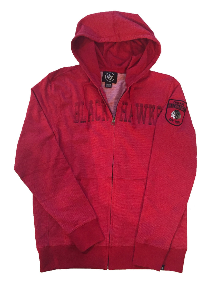 Chicago Blackhawks Top Grain Hoody