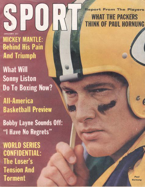 January 1963 SPORT Cover (Paul Hornung, Green Bay Packers)
