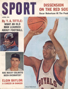 April 1964 SPORT Cover (Oscar Robertson, Cincinnati Royals)