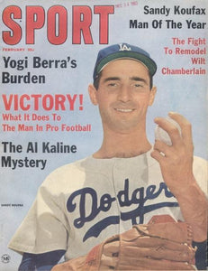 February 1964 SPORT Cover (Sandy Koufax, Los Angeles Dodgers)