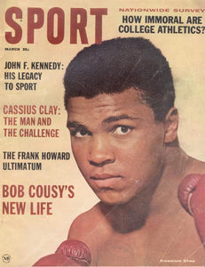March 1964 SPORT Cover (Cassius Clay)