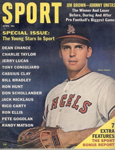 April 1965 SPORT Cover (Dean Chance, Los Angeles Angels)