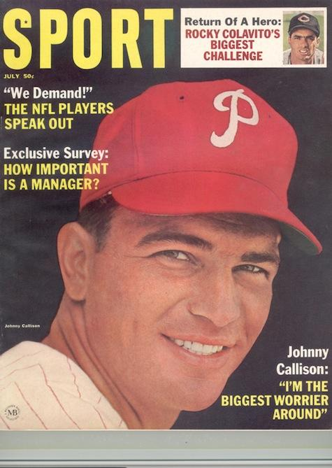 July 1965 SPORT Cover (Johnny Callision, Philadelphia Phillies)