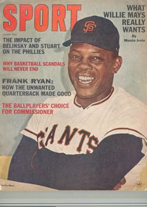 June 1965 SPORT Cover (Willie Mays, San Francisco Giants)