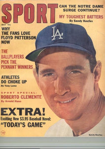 May 1965 SPORT Cover (Sandy Koufax, Los Angeles Dodgers)