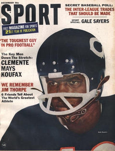 December 1966 SPORT Cover (Gale Sayers, Chicago Bears)