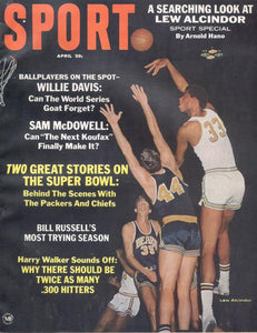 April 1967 SPORT Cover (Lew Alcindor, UCLA)