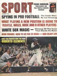 August 1967 SPORT Cover (Roberto Clemente, Pittsburgh Pirates)