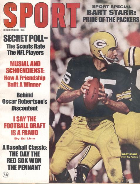 December 1967 SPORT Cover (Bart Starr, Green Bay Packers)