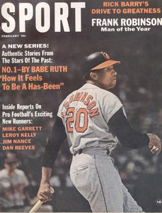 February 1967 SPORT Cover (Frank Robinson, Baltimore Orioles)