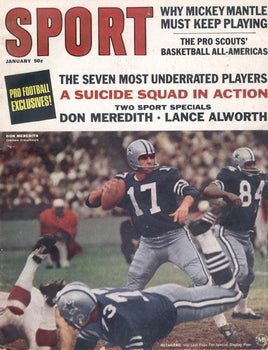 January 1967 SPORT Cover