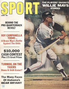 June 1967 SPORT Cover (Willie Mays, San Francisco Giants)