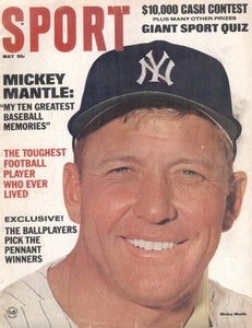 May 1967 SPORT Cover (Mickey Mantle, New York Yankees)