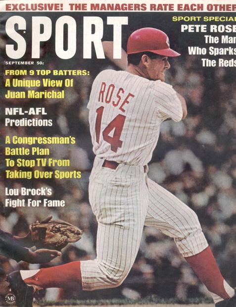 September 1967 SPORT Cover (Pete Rose, Cincinnati Reds)